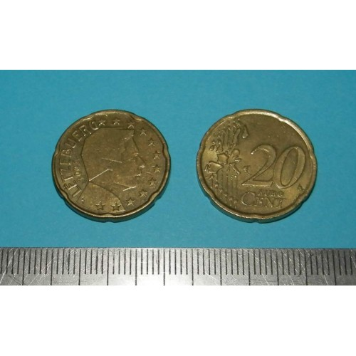 Luxemburg - 20 cent 2005