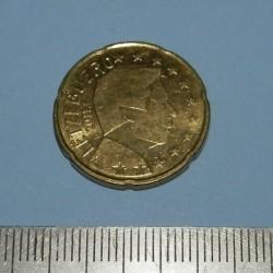Luxemburg - 20 cent 2011