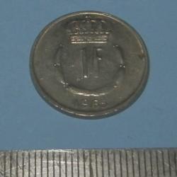 Luxemburg - 1 frank 1965