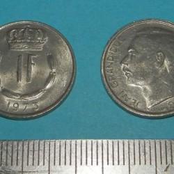 Luxemburg - 1 frank 1973
