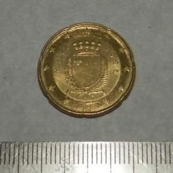 Malta - 20 cent 2008