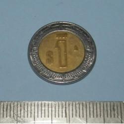 Mexico - 1 peso 2001