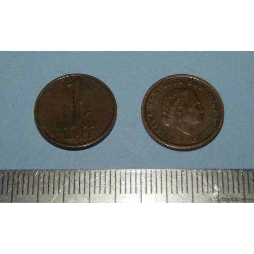 Nederland - 1 cent 1950