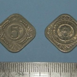 Nederlandse Antillen - 5 cent 1965