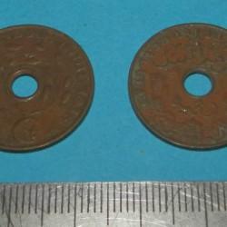 Nederlands Indië - 1 cent 1938