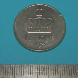 Noorwegen - 1 kroon 1974