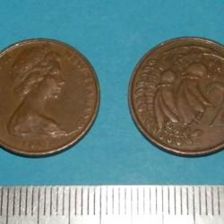 Nieuw-Zeeland - 2 cent 1967