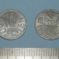 Oostenrijk - 10 groschen 1964