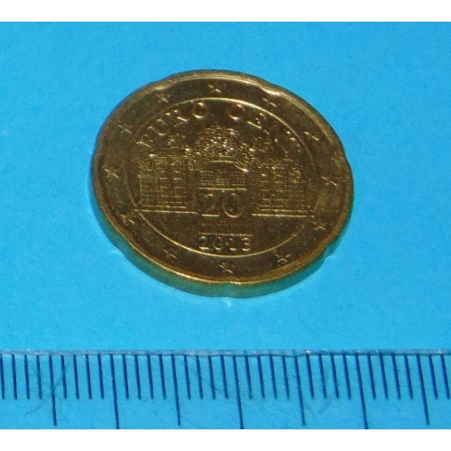 Oostenrijk - 20 cent 2013
