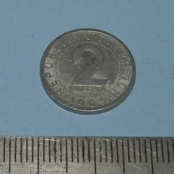 Oostenrijk - 2 groschen 1965