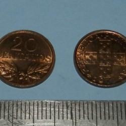 Portugal - 20 centavos 1974