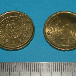 Portugal - 20 cent 2005