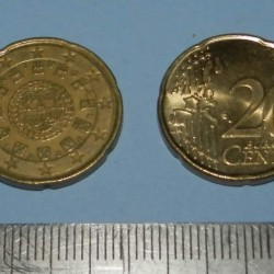 Portugal - 20 cent 2006