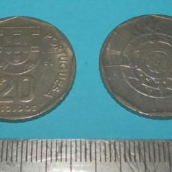 Portugal - 20 escudos 1986