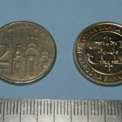 Servië - 2 dinar 2003