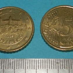 Slowakije - 50 cent 2009