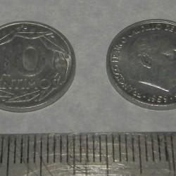 Spanje - 10 centimos 1959