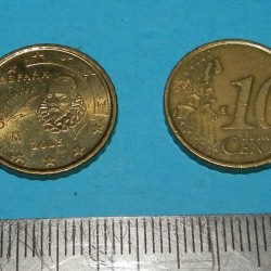 Spanje - 10 cent 2002