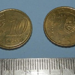 Spanje - 10 cent 2008
