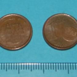 Spanje - 1 cent 1999