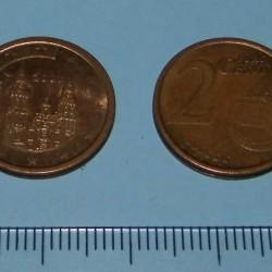 Spanje - 2 cent 2001