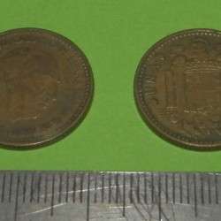 Spanje - 1 peseta 1953*56