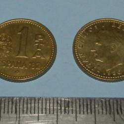 Spanje - 1 peseta 1980*80