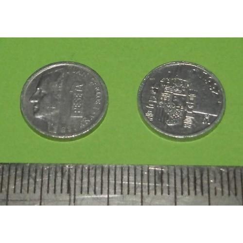 Spanje - 1 peseta 1992