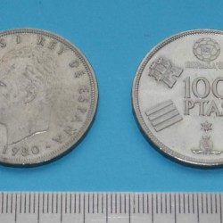 Spanje - 100 peseta 1980*80
