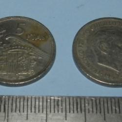 Spanje - 5 pesetas 1957*68