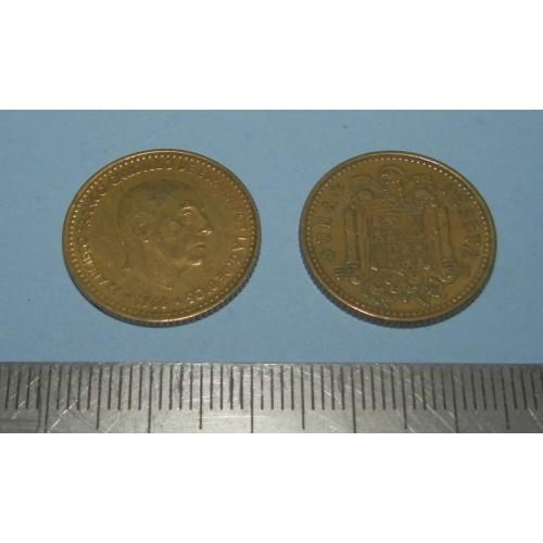 Spanje - 1 peseta 1966*68