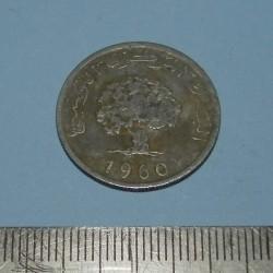 Tunesië - 5 millim 1960