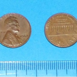 Verenigde Staten - 1 cent 1964D