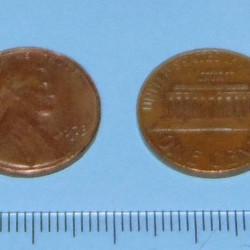 Verenigde Staten - 1 cent 1973D