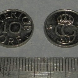 Zweden - 10 öre 1976