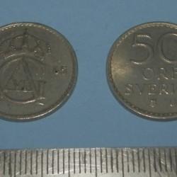 Zweden - 50 öre 1965
