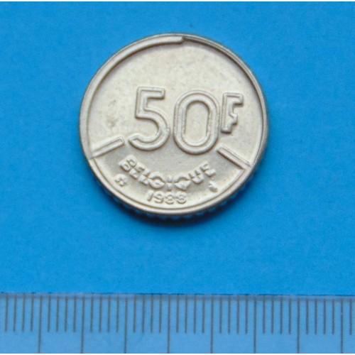 België - 50 frank 1988F