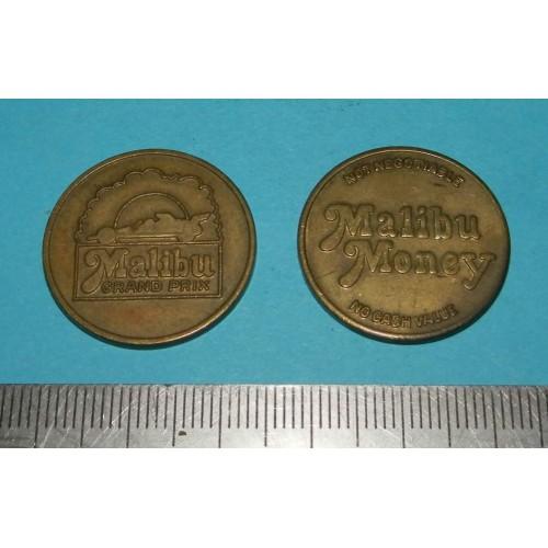 "Amerikaans token ""Malibu Grand Prix"""