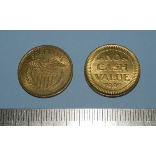 """Amerikaans token """"Freedom"""" - klein"""