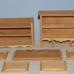 Buffetkast voor poppenhuis - casco bouwpakket