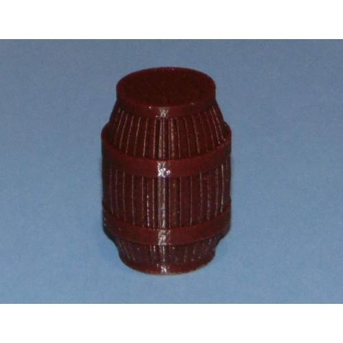 Ton voor poppenhuis of grootspoor, donker, 35mm