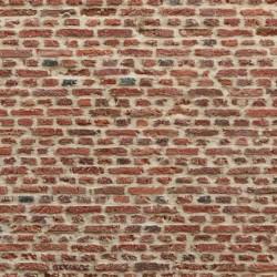 Bakstenen muur - motief A - A4