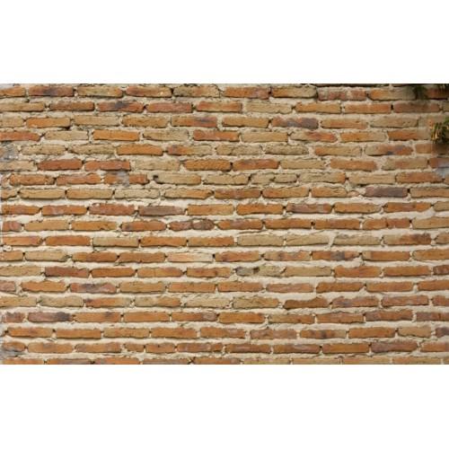 Bakstenen muur - motief B - A3