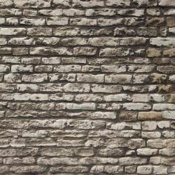 Bakstenen muur - motief C - A3-vel
