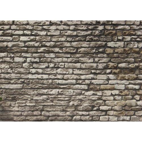 Bakstenen muur - motief C - A4-vel - zelfklevend