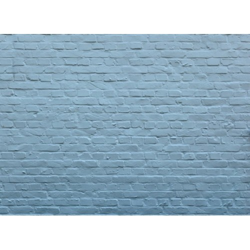 Blauwe muur - A4-vel - zelfklevend