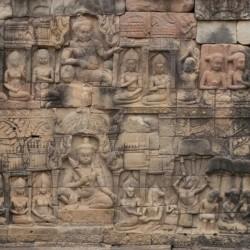 Cambodjaanse tempel - A4-vel