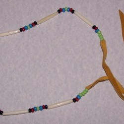 Lakota Sioux halsketting, model D