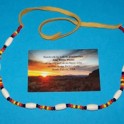 Lakota Sioux halsketting - model I