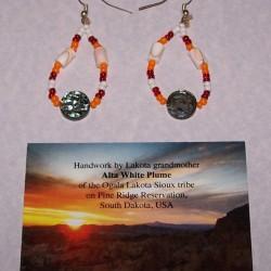 Lakota Sioux oorbellen